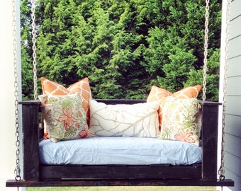 Porch Swing sized to Crib mattress