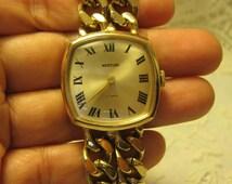 Vintage westclox 17 jewel manual wind watch.