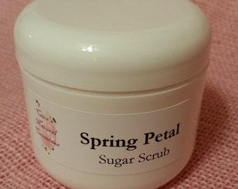 Spring Petal Sugar Scrub
