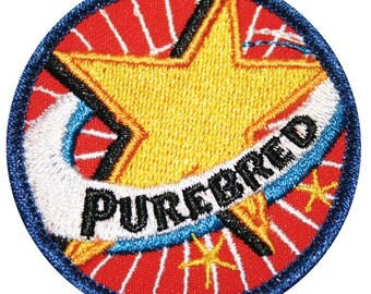 Gold Star Purebred Gay Merit Badge