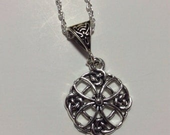 Celtic Knot Charm Necklace