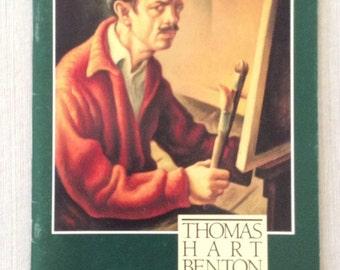 Thomas Hart Benton, an American original, Nelson-Atkins Museum of Art, 1989, Exhibition Catalog, Contemporary Art