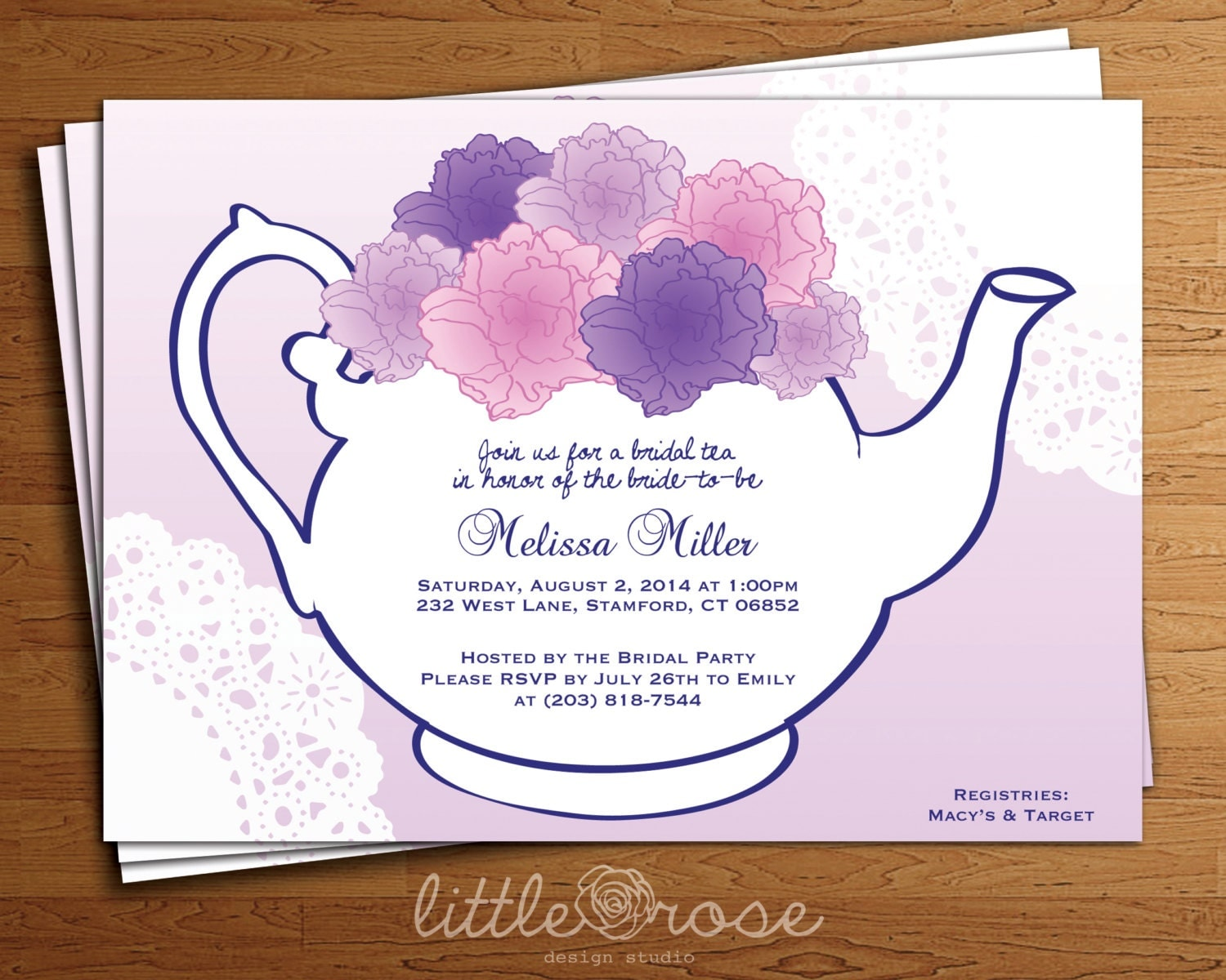 Bridal tea party invitation floral teapot bridal shower invitation bridal tea party invitation floral teapot bridal shower invitation diy printable digital file only filmwisefo