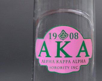 Alpha Kappa Alpha 24oz. Water Bottle