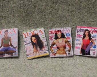 Fitness Magazines For Dollhouse
