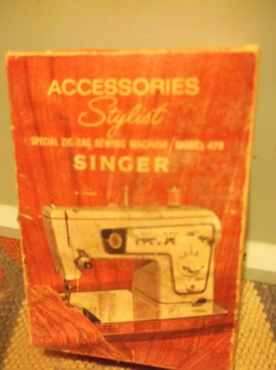 singer 478 sewing machine