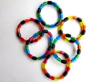 Transparent LEGO Bracelet
