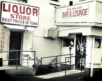 Liquor Store 5 x 7 Matted Photography