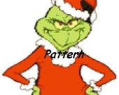 Grinch. Cross Stitch Pattern. PDF Files.