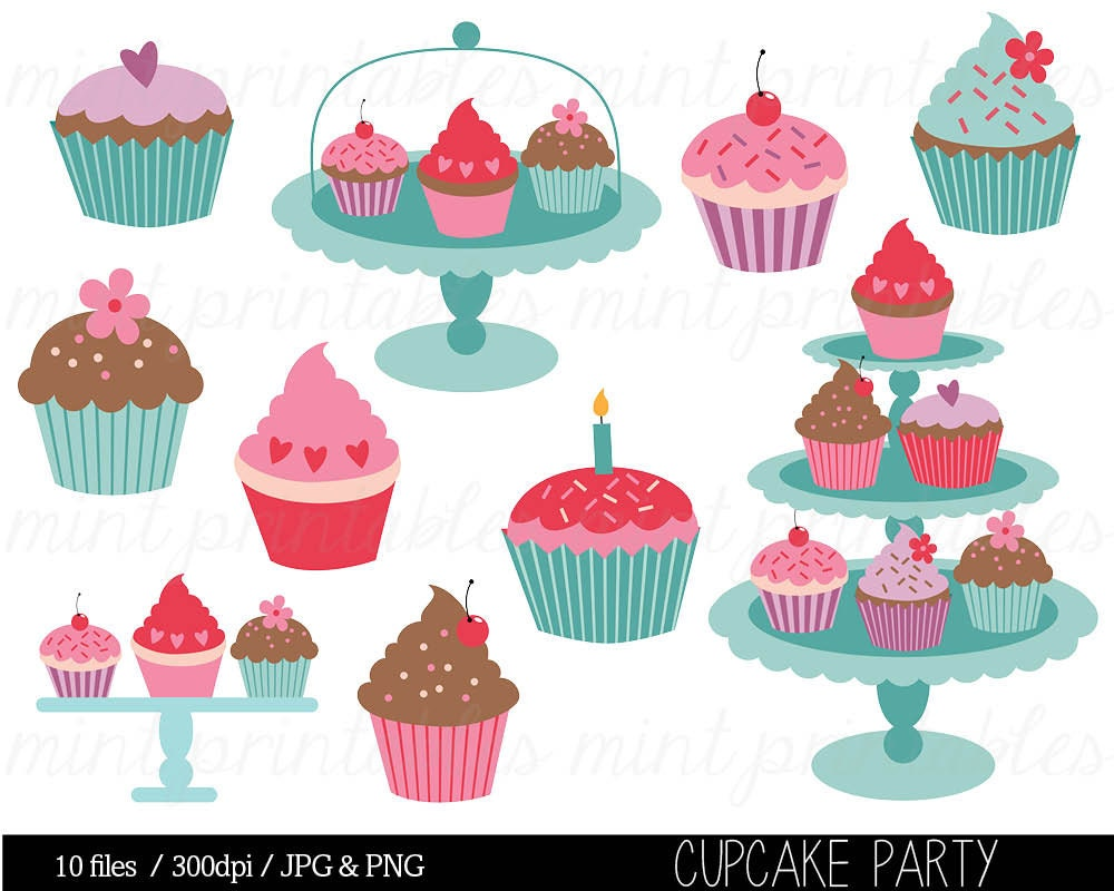 Clip Art Free Cupcake Clipart cup cake clip art etsy cupcake clipart birthday invitation commercial personal buy 2 get 1 free