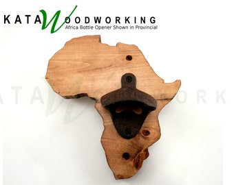 Vermont Shaped Wood Cut Out Bottle Opener Wall By Katawoodworking