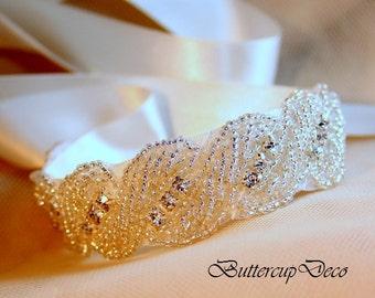 Wedding Bracelet Rhinestone Bracelet  Bridal Bracelet Crystal Bracelet