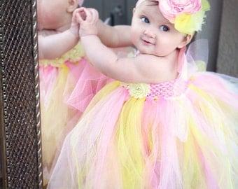 gorgeous beautiful pink lemonade tu tu strawberry lemonade baby girl