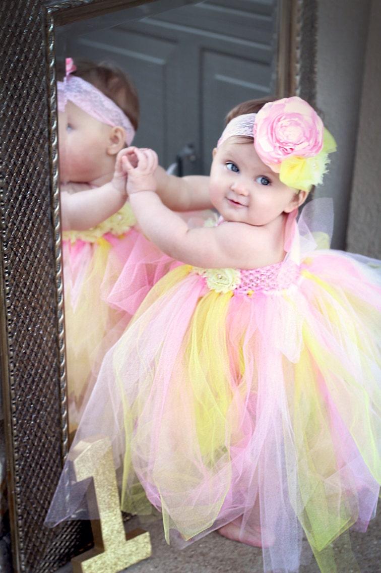 Gorgeous Beautiful Pink Lemonade Tutu Strawberry Lemonade Baby