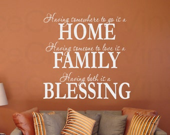 Having Somewhere to Go is a Home Vinyl Wall Decal Kitchen Family Room Living Room Wall Art More Colors Available