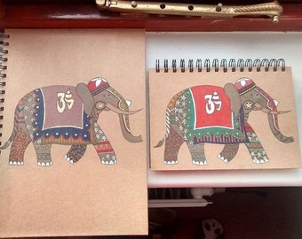 Indian Elephant Notebook Bundle