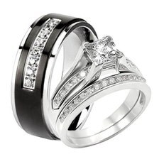 Black Wedding Rings For Him Wedding Bands