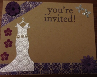 Bridal Shower Invitation / per 20
