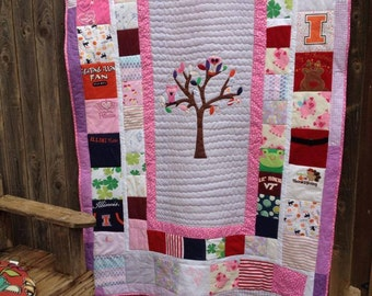 Memory Quilt with Center Design