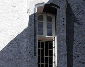 Photography, St. Augustine Lighthouse, FL, Florida, Fine Art Print, Shadows, Black and White Home Decor, 5x7, 8x10, 11x14, Wall Art