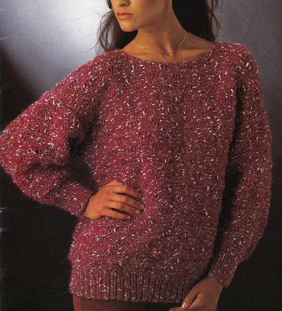 Vintage Knitting Pattern Instructions to Make by LucysPatternBox