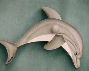 Dolphin - Original Folk Art Pattern