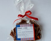 Handmade roast almond butterscotch toffee for treats and gifts - 250g