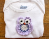 Hootie Cutie: Crochet Owl Onesie