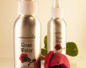 Rose Floral Water, Facial Toner,Hydrosol, Rose water, For All Skin Types