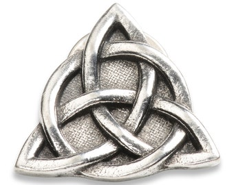 Charmed Inspired Celtic Knot or Triquetra Pin