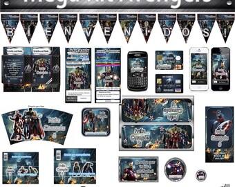 Printable kit Avengers