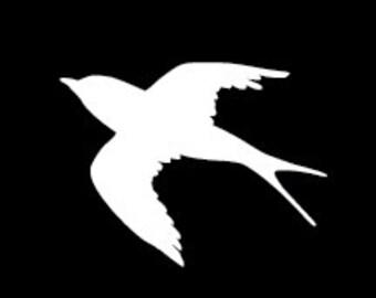 005 Sparrow – Bird Decal