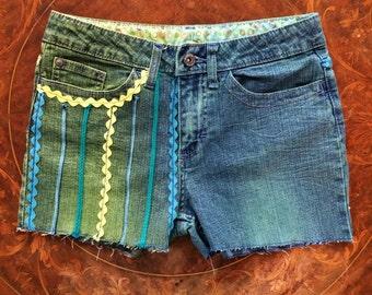 KIDS 14R Zig Zag Shorts