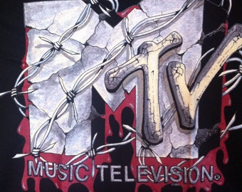 MTV Barbed wire t-shirt