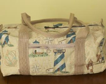 Tapestry Duffel Bag