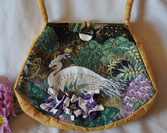 Handmade Embroidered and Beaded Handbag #14