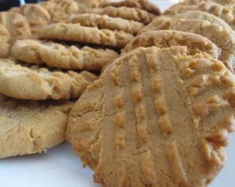 Soft and Chewy Peanut Butter Cookies (1 dozen per order)