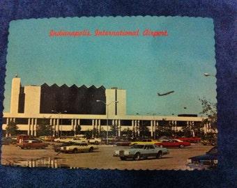 Airport - Indianapolis, Indiana - Postcard