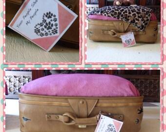 Suitcase Pet Bed OOAK