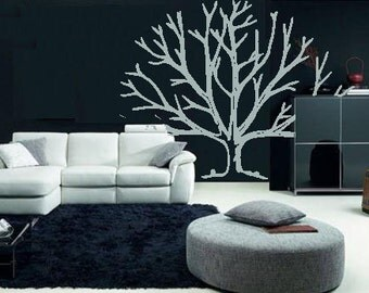 bare tree winter branches vinyl decal/sticker