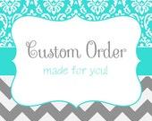 Custom Cake Topper order for Dana Battle
