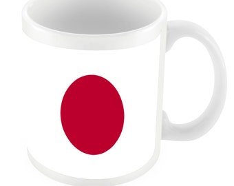 Japan Road To World Cup Ceramic Mug Gift Birthday Present Novelty Brasil 2014
