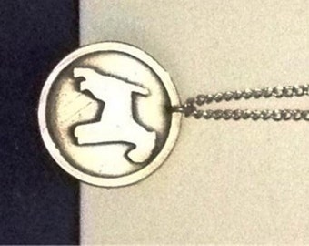 Terrier medallion and chain