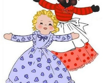 Redline Topsy and Eva Upside Down Doll