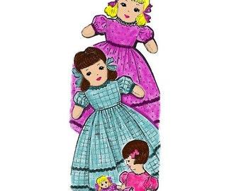 Sweet Girl Topsy Turvy Doll Pattern