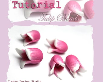 TUTORIAL Polymer Clay Tulip Beads Flowers PDF eBook