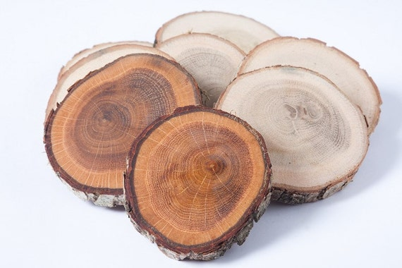 Oak Wood Centerpiece : Items similar to oak wood coasters quot wooden