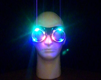 LED Light up Rave Goggles