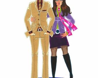Cool Mod couple