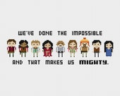 Firefly: Done the Impossible Cross Stitch Pattern PDF Instant Download